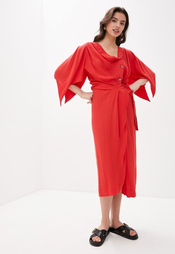 женское платье vivienne westwood, красное