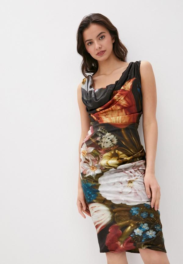 женское повседневные платье vivienne westwood, разноцветное