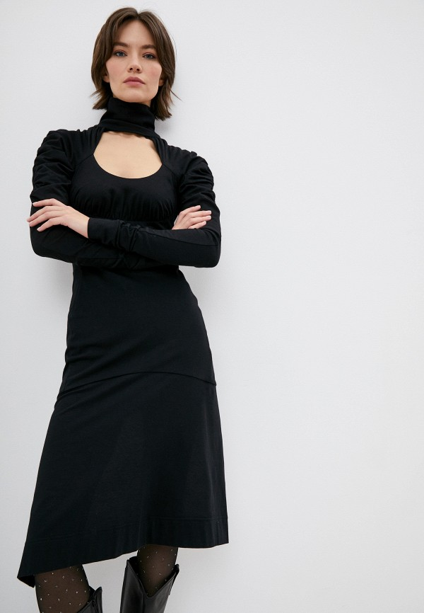 женское вечерние платье vivienne westwood, черное