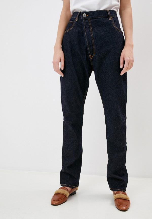 женские прямые джинсы vivienne westwood, синие