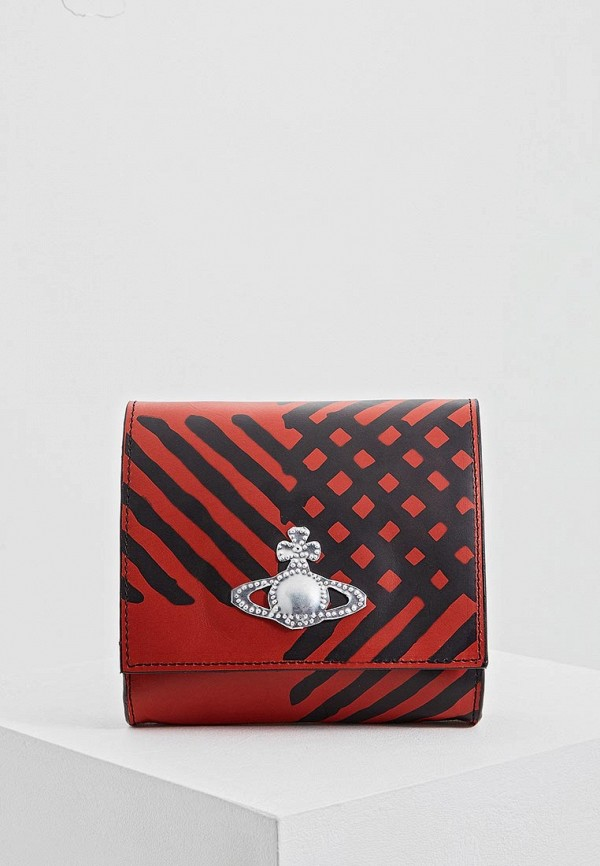 женская сумка vivienne westwood anglomania, красная
