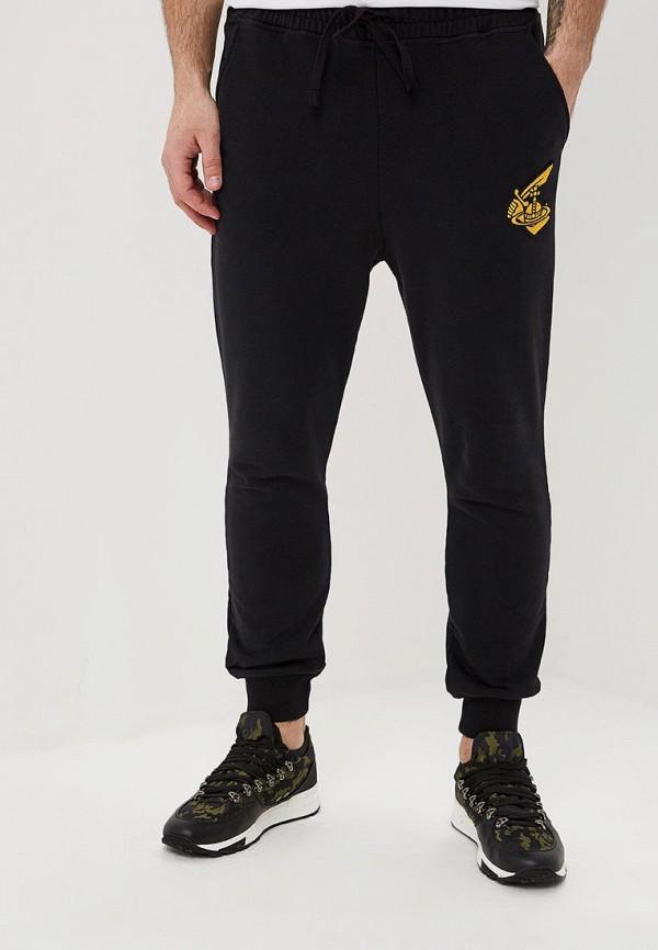 мужские спортивные спортивные брюки vivienne westwood anglomania, черные