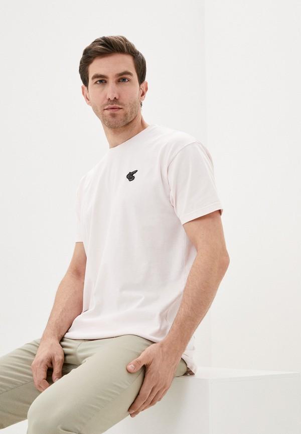 мужская футболка vivienne westwood anglomania, розовая