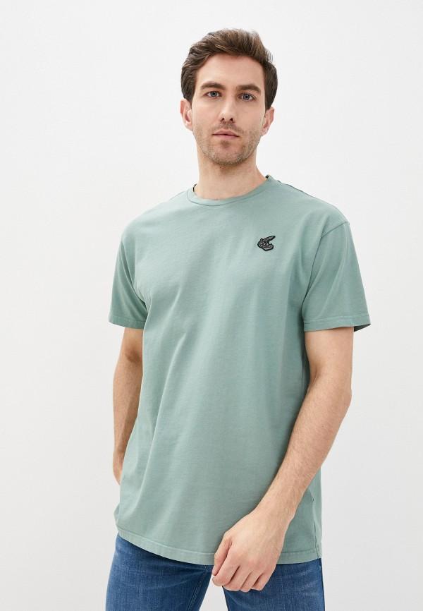 мужская футболка vivienne westwood anglomania, зеленая