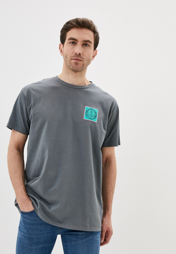 мужская футболка vivienne westwood anglomania, серая