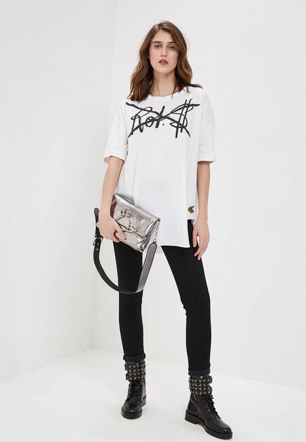 Фото 2 - женские джинсы Vivienne Westwood Anglomania черного цвета