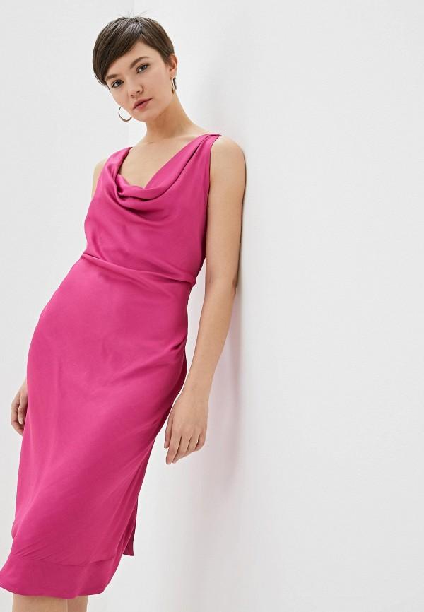женское вечерние платье vivienne westwood anglomania, розовое