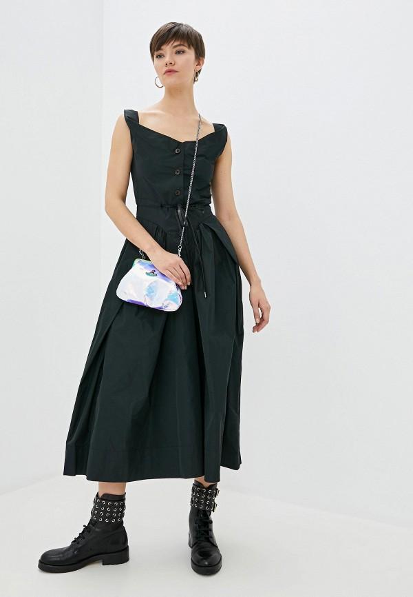 женское повседневные платье vivienne westwood anglomania, черное