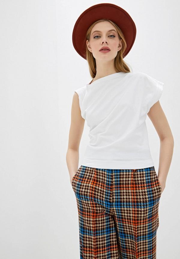 женская футболка vivienne westwood anglomania, белая