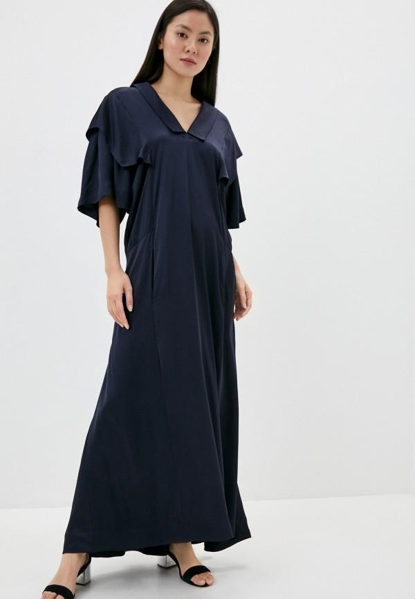 женское вечерние платье vivienne westwood anglomania, синее