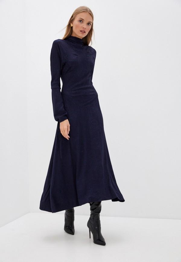 женское повседневные платье vivienne westwood anglomania, синее