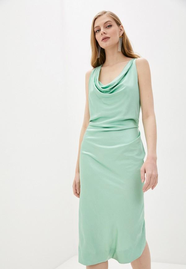женское повседневные платье vivienne westwood anglomania, бирюзовое