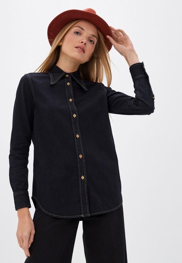женская джинсовые рубашка vivienne westwood anglomania, черная