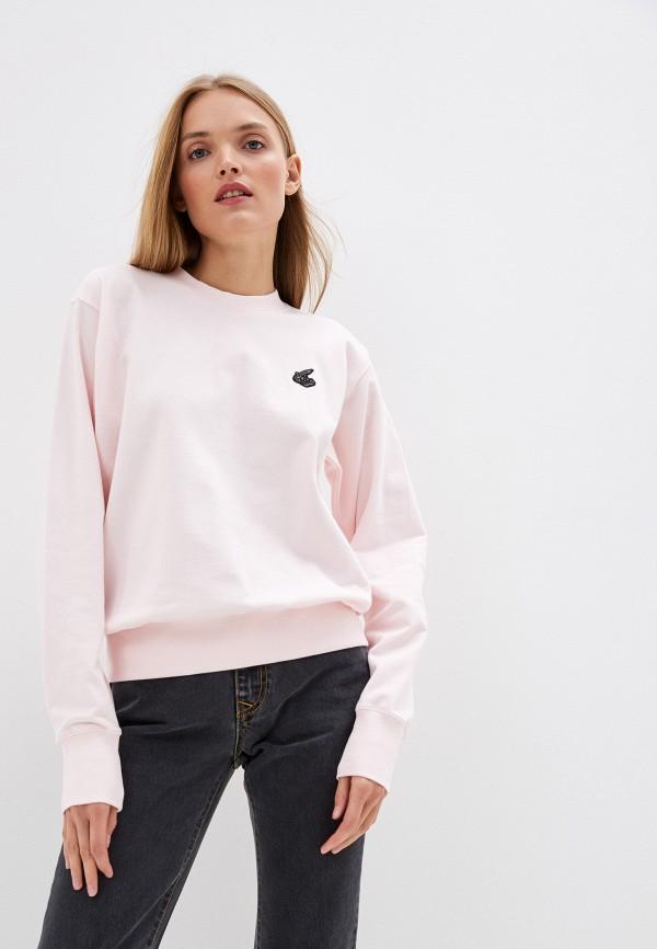 женский свитшот vivienne westwood anglomania, розовый