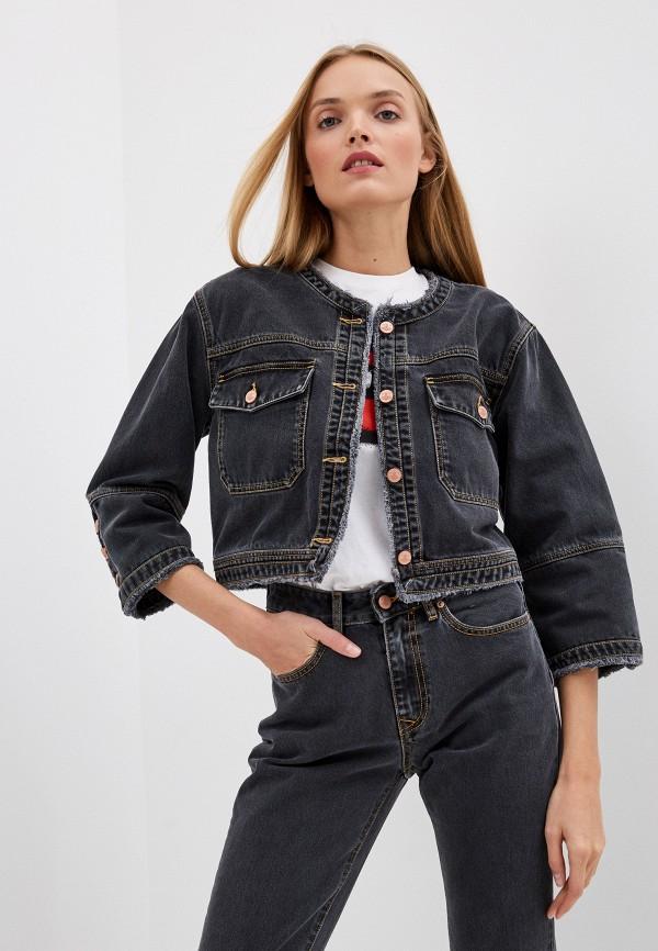 женская джинсовые куртка vivienne westwood anglomania, серая
