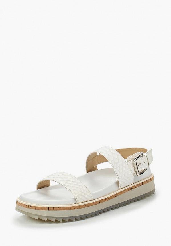женские сандалии vicini tapeet, белые
