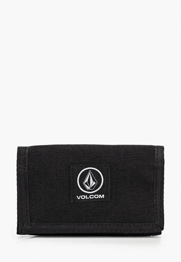 мужской кошелёк volcom, черный