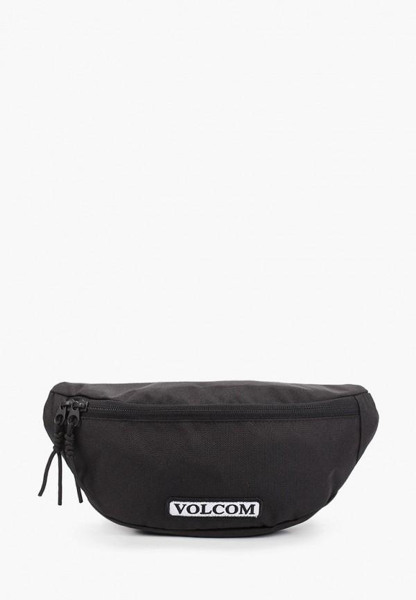 мужская сумка volcom, черная