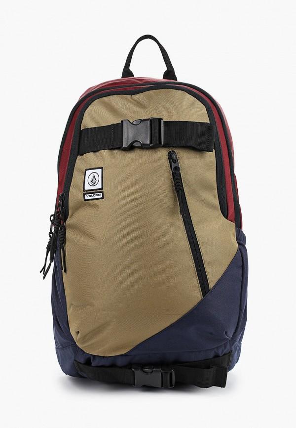 женский рюкзак volcom, разноцветный