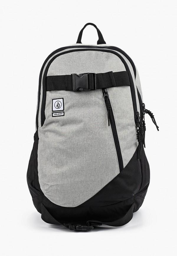 женский рюкзак volcom, серый