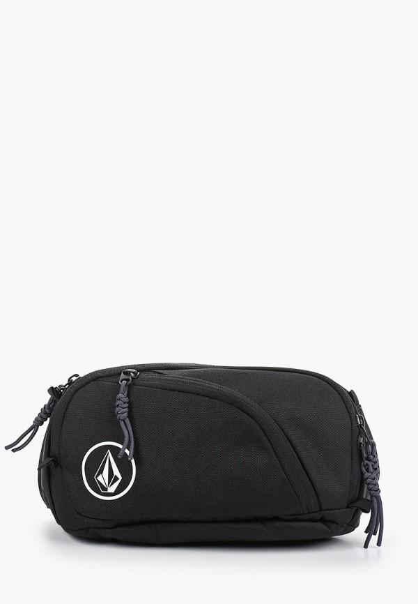 женская сумка volcom, черная