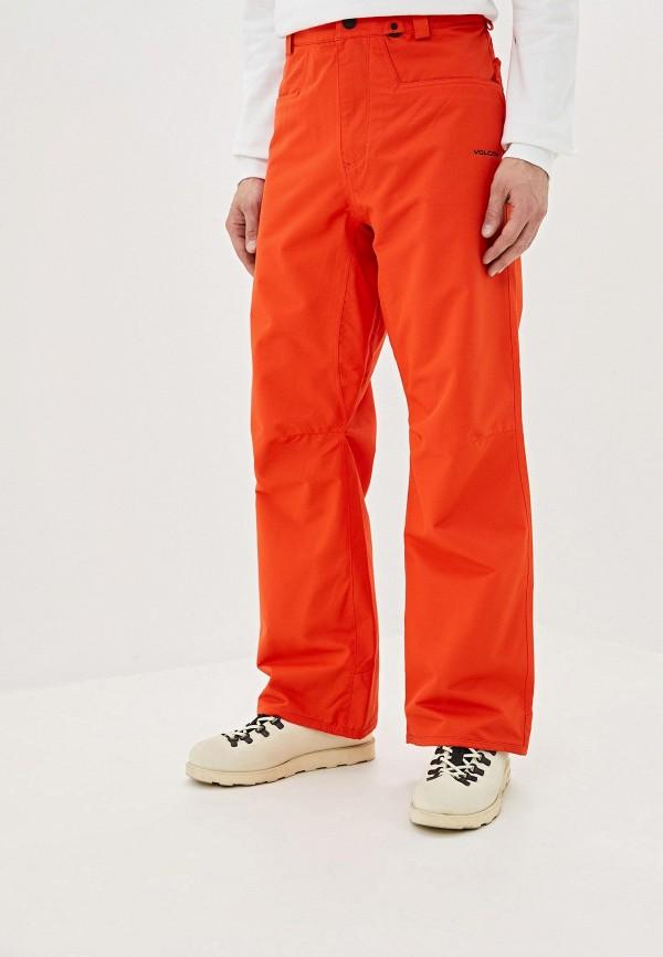 мужские брюки volcom, оранжевые