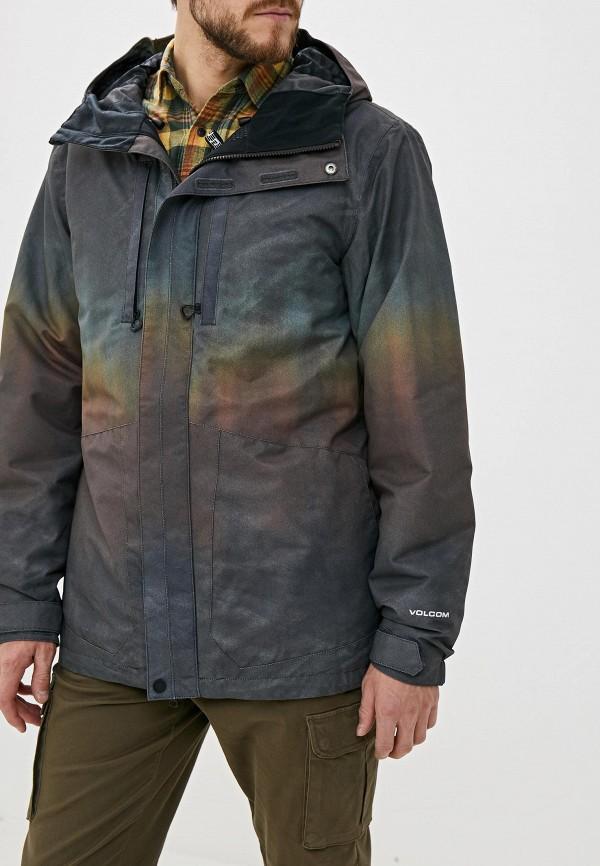 мужская куртка volcom, разноцветная