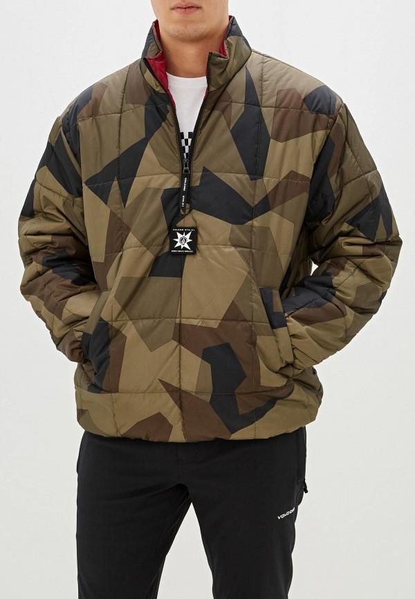 мужская куртка volcom, хаки