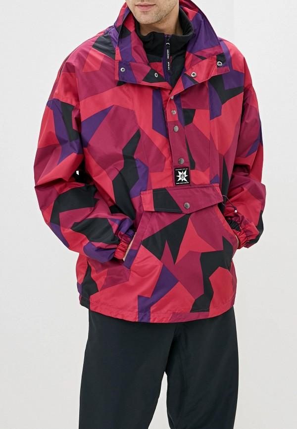 мужская куртка volcom, розовая