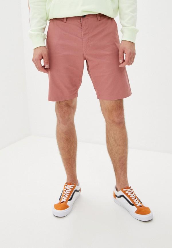 мужские повседневные шорты volcom, розовые