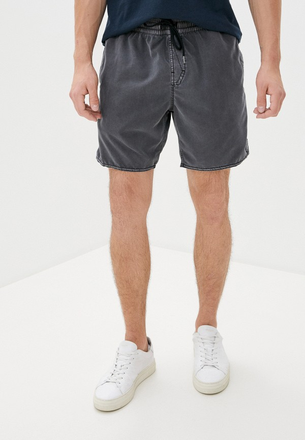 мужские повседневные шорты volcom, серые