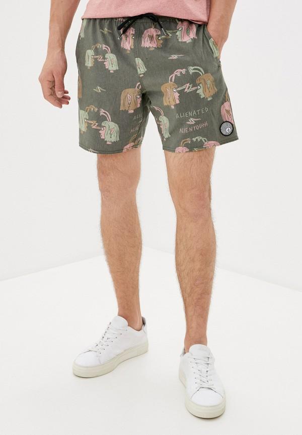 мужские повседневные шорты volcom, хаки