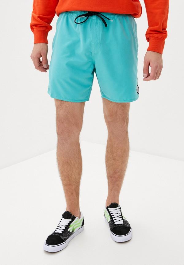 мужские повседневные шорты volcom, зеленые