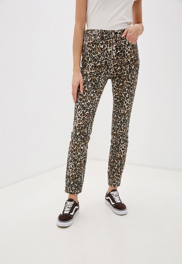 женские брюки volcom, коричневые