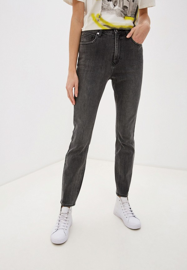 женские джинсы volcom, серые