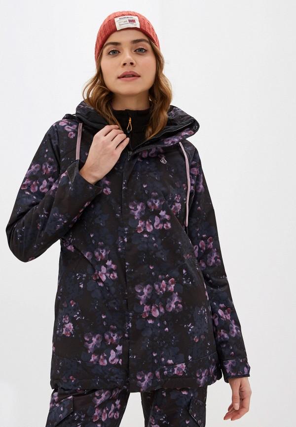 женская куртка volcom, черная