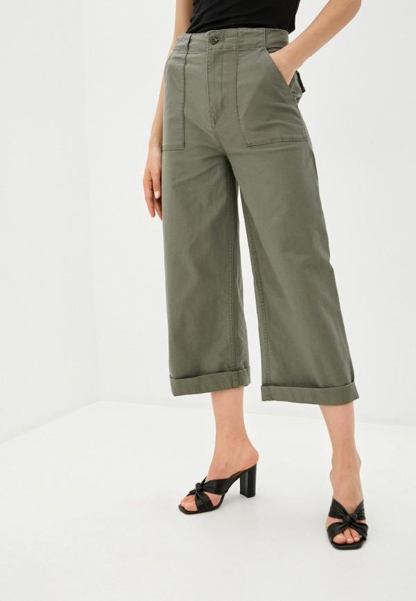 женские повседневные брюки volcom, хаки