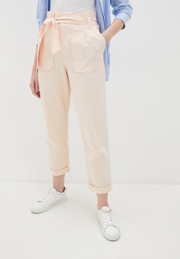женские повседневные брюки volcom, розовые