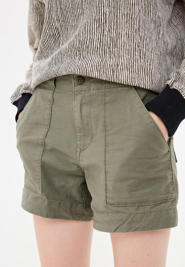 женские повседневные шорты volcom, хаки