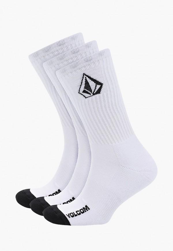 мужские носки volcom, белые
