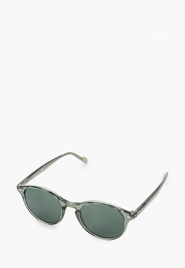 женские круглые солнцезащитные очки vogue® eyewear, зеленые