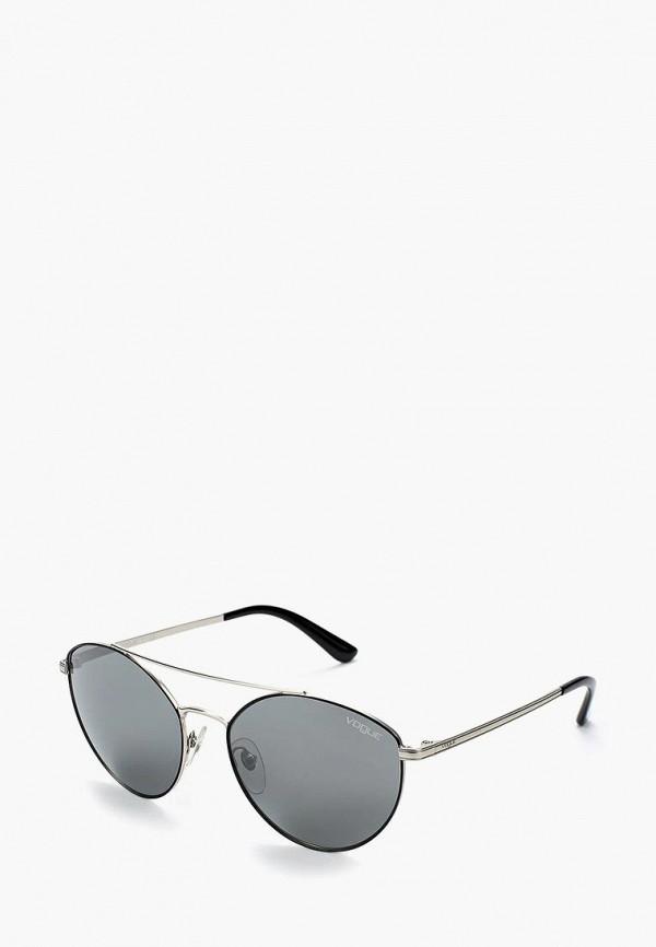 Купить Очки солнцезащитные Vogue® Eyewear, VO4023S 352/6G, VO007DWABYA2, серебряный, Осень-зима 2018/2019