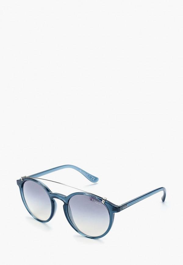 Купить Очки солнцезащитные Vogue® Eyewear, VO5161S 25347B, VO007DWABYA3, синий, Осень-зима 2018/2019
