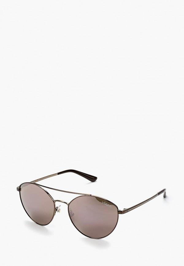 Купить Очки солнцезащитные Vogue® Eyewear, VO4023S 50675R, VO007DWABYA7, коричневый, Осень-зима 2018/2019