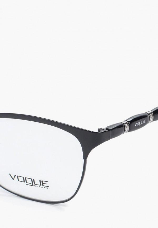 Фото 7 - Оправа Vogue® Eyewear черного цвета