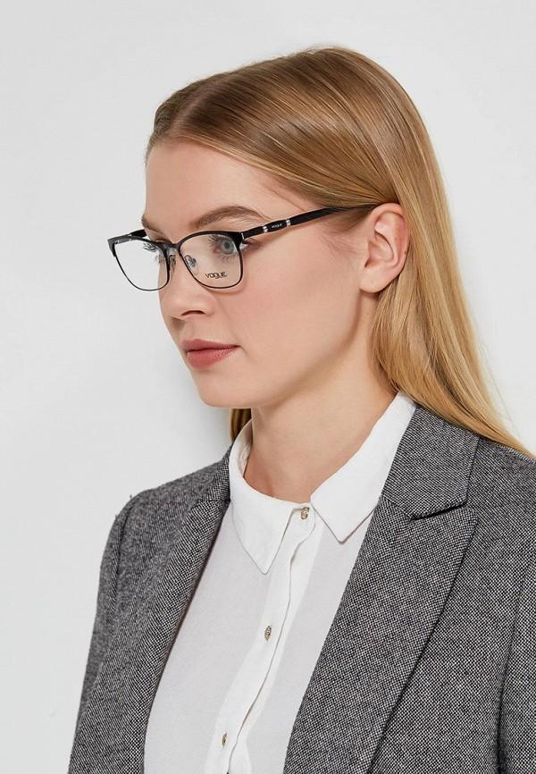 Фото 10 - Оправа Vogue® Eyewear черного цвета