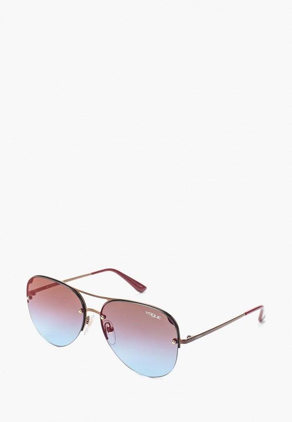 Купить Очки солнцезащитные Vogue® Eyewear, VO4080S 5074H7, VO007DWAUPA1, золотой, Осень-зима 2018/2019