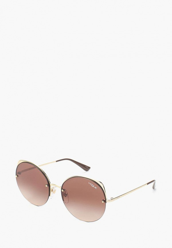 Купить Очки солнцезащитные Vogue® Eyewear, VO4081S 848/13, VO007DWAUPA2, золотой, Весна-лето 2018