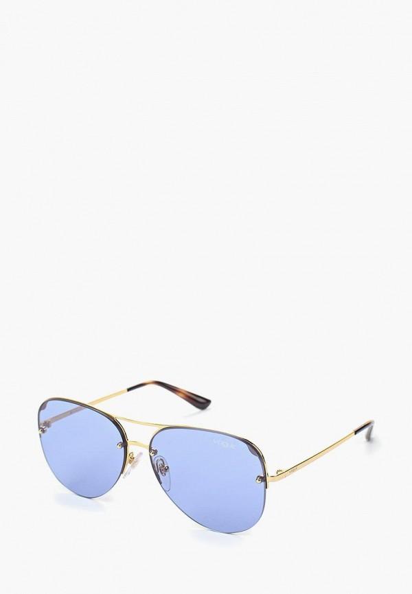 Купить Очки солнцезащитные Vogue® Eyewear, VO4080S 280/76, VO007DWAUPA7, золотой, Осень-зима 2018/2019
