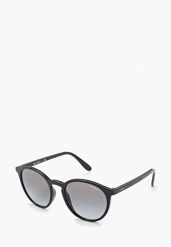 Купить Очки солнцезащитные Vogue® Eyewear, VO5215S W44/11, vo007dwaupa9, черный, Весна-лето 2019